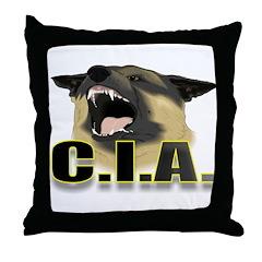 CIA Throw Pillow