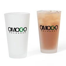 Official Omogo Reloaded Logo Drinking Glass