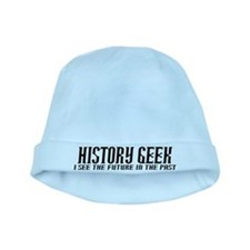 History Geek Future in Past baby hat