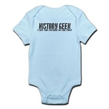 History Geek Future in Past Body Suit
