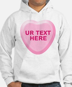 Banana Candy Heart Personalized Hoodie