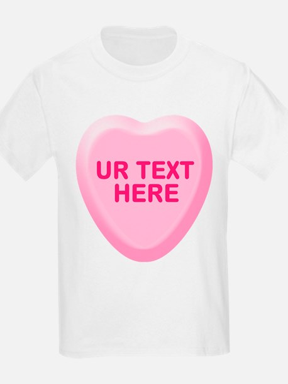 Banana Candy Heart Personalized T-Shirt