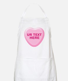Banana Candy Heart Personalized Apron