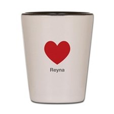 Reyna Big Heart Shot Glass
