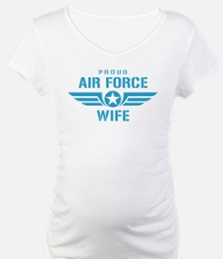 Proud Air Force Wife W Shirt