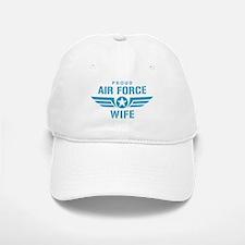 Proud Air Force Wife W Baseball Baseball Cap