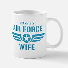 Proud Air Force Wife W Mug