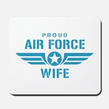 Proud Air Force Wife W Mousepad