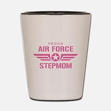 Proud Air Force Stepmom W [pink] Shot Glass