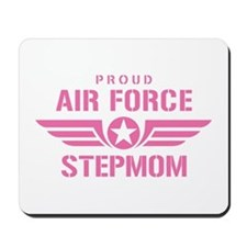 Proud Air Force Stepmom W [pink] Mousepad