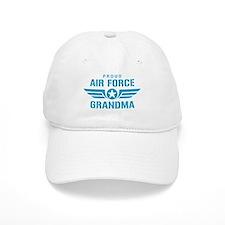 Proud Air Force Grandma W Baseball Cap