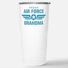 Proud Air Force Grandma W Travel Mug