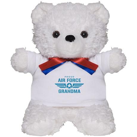 Proud Air Force Grandma W Teddy Bear