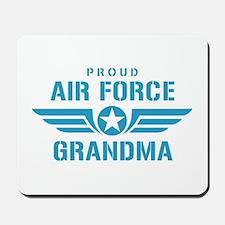 Proud Air Force Grandma W Mousepad