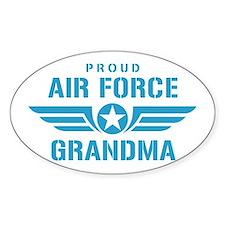 Proud Air Force Grandma W Decal