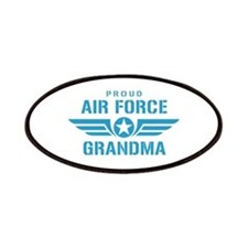 Proud Air Force Grandma W Patches