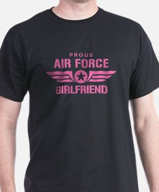 Proud Air Force Girlfriend W [pink] T-Shirt