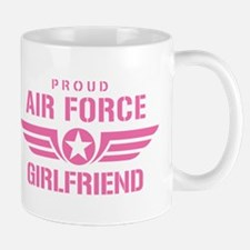 Proud Air Force Girlfriend W [pink] Mug