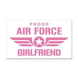 "Air force girlfriend 3"" x 5"""