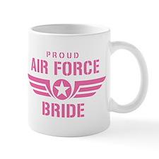 Proud Air Force Bride W [pink] Mug