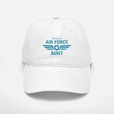 Proud Air Force Aunt W Baseball Baseball Cap