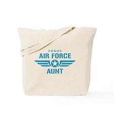 Proud Air Force Aunt W Tote Bag