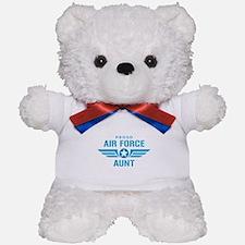 Proud Air Force Aunt W Teddy Bear