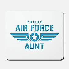 Proud Air Force Aunt W Mousepad