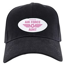 Proud Air Force Aunt W [pink] Baseball Hat