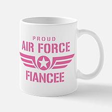 Proud Air Force Fiancee W [pink] Mug
