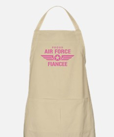 Proud Air Force Fiancee W [pink] Apron