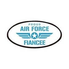 Proud Air Force Fiancee W Patches