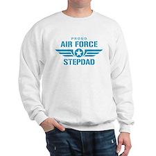 Proud Air Force Stepdad W Sweatshirt