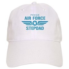 Proud Air Force Stepdad W Baseball Cap