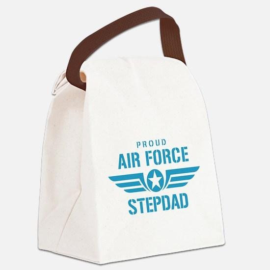 Proud Air Force Stepdad W Canvas Lunch Bag