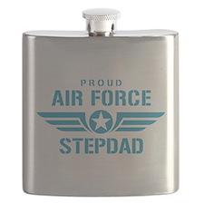 Proud Air Force Stepdad W Flask