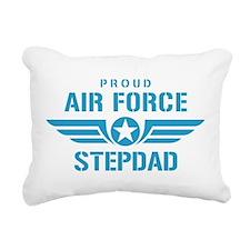 Proud Air Force Stepdad W Rectangular Canvas Pillo
