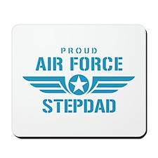 Proud Air Force Stepdad W Mousepad