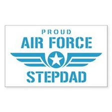 Proud Air Force Stepdad W Decal