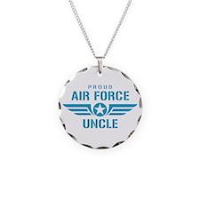 Proud Air Force Uncle W Necklace