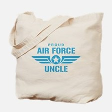 Proud Air Force Uncle W Tote Bag