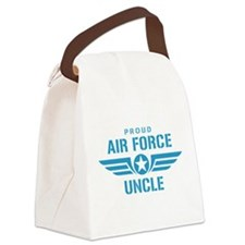 Proud Air Force Uncle W Canvas Lunch Bag