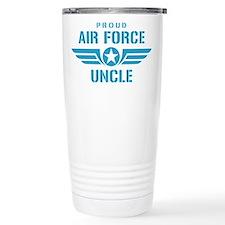 Proud Air Force Uncle W Travel Mug