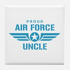 Proud Air Force Uncle W Tile Coaster