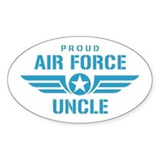 Proud Air Force Uncle W Decal