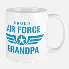 Proud Air Force Grandpa W Mug