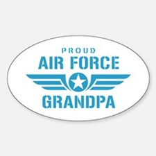 Proud Air Force Grandpa W Decal