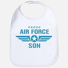 Proud Air Force Son W Bib
