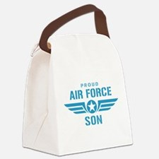 Proud Air Force Son W Canvas Lunch Bag