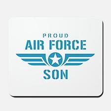 Proud Air Force Son W Mousepad